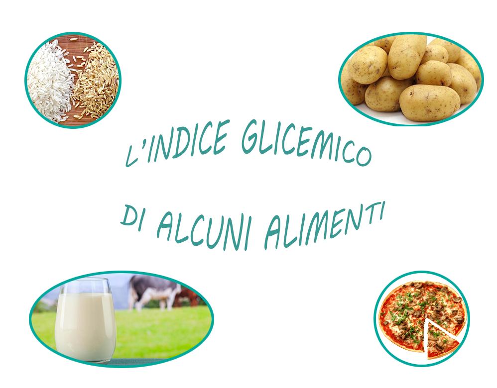 l'indice glicemico di alcuni alimenti